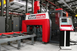 The CNS machine Voortman has been launched, we offer the production capacity
